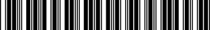 Barcode for 4D0051179