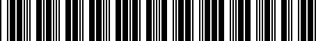 Barcode for 4G0052133H
