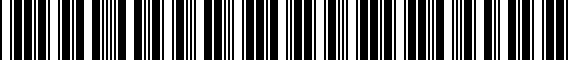 Barcode for 8W6807287BRN4