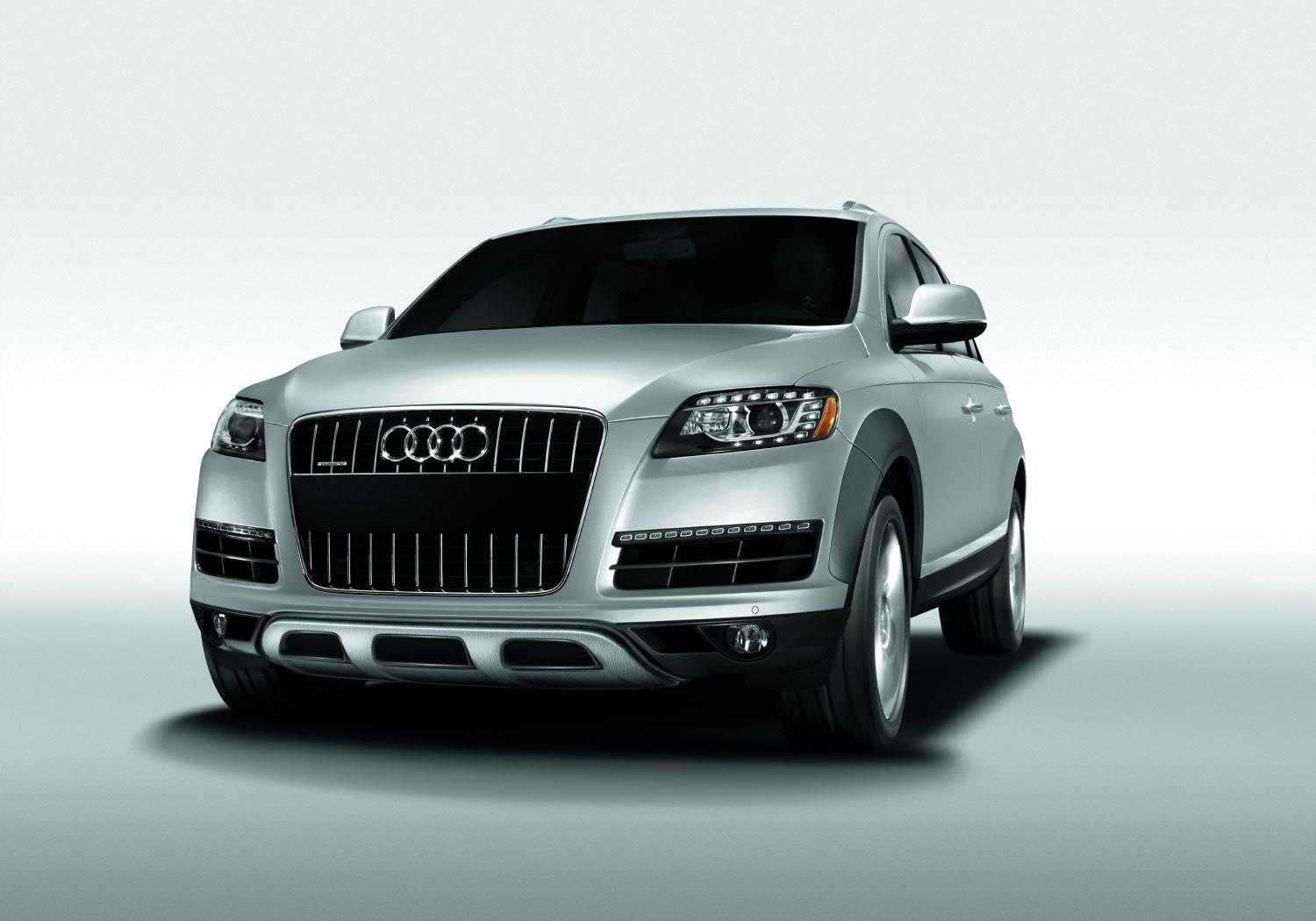 2009 Audi Q7 Off Road Package - Front Apron w/ Stainless Steel Underbody Protection (to ...