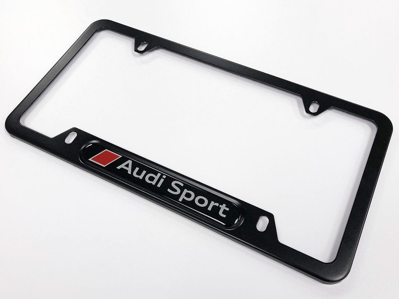 Audi sport license plate frame ... & 2014 Audi A5 Genuine Accessories