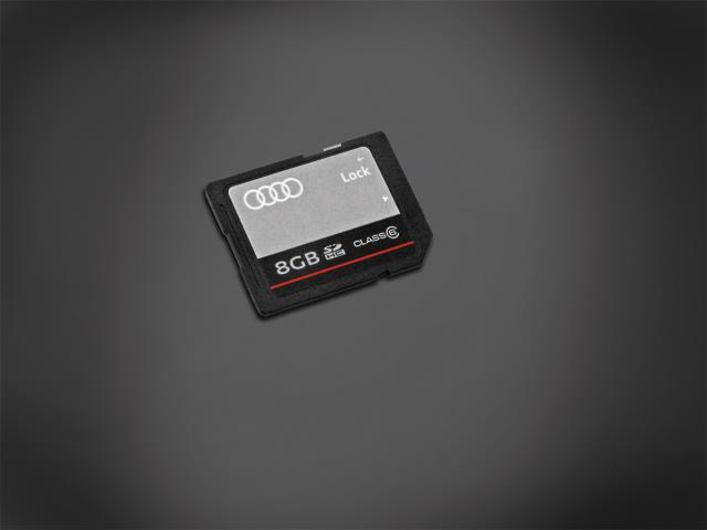 Audi a6 sd card slot