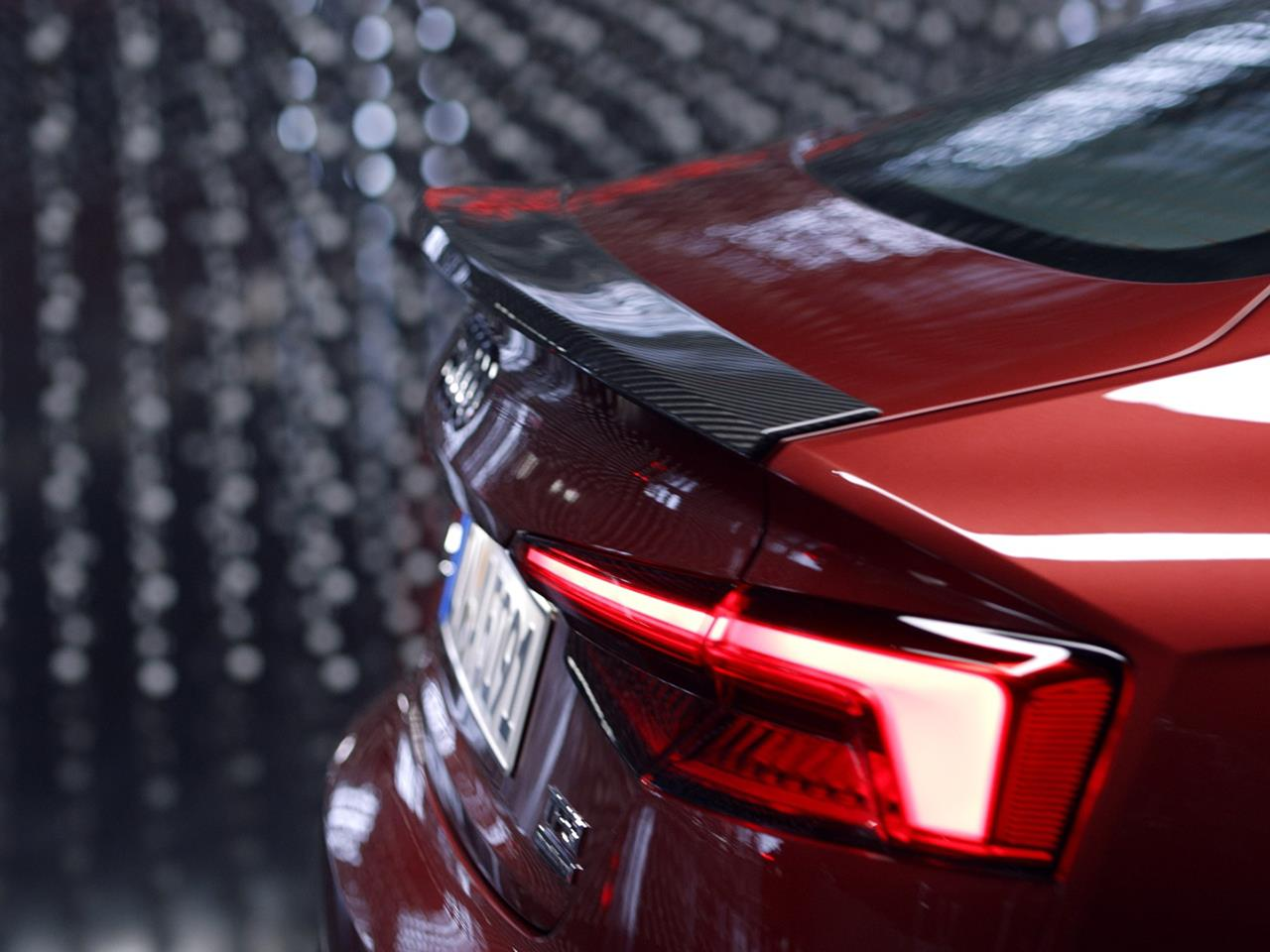 2018 Audi S5 Sportback Carbon Fiber Spoiler ...
