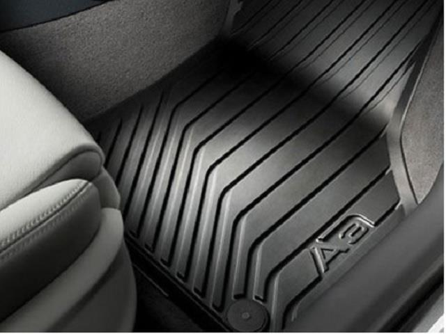 2017 Audi A3 All Weather Floor Mats Front Rubber
