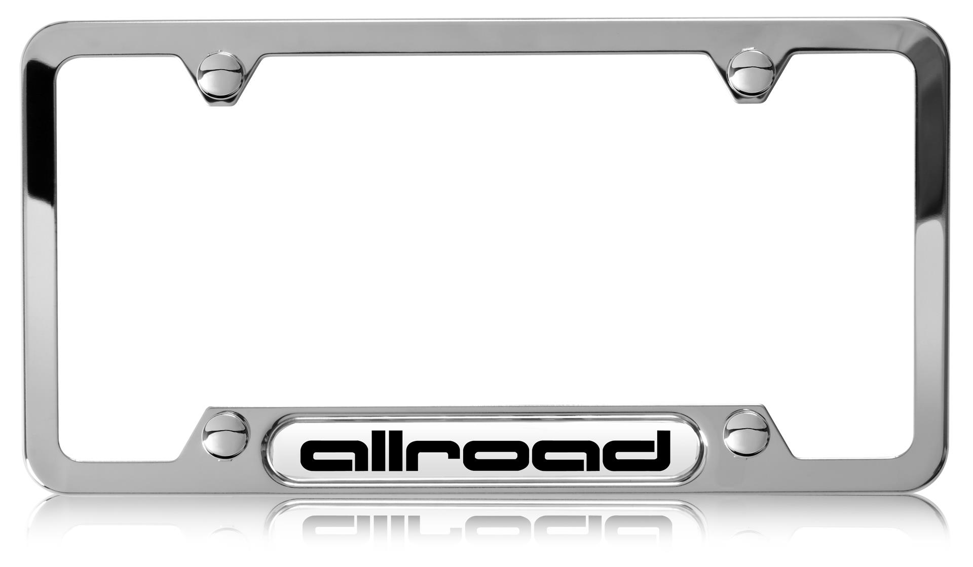 Audi License Plate Frame Audi Q5 Audi Rings License Plate Frame ...