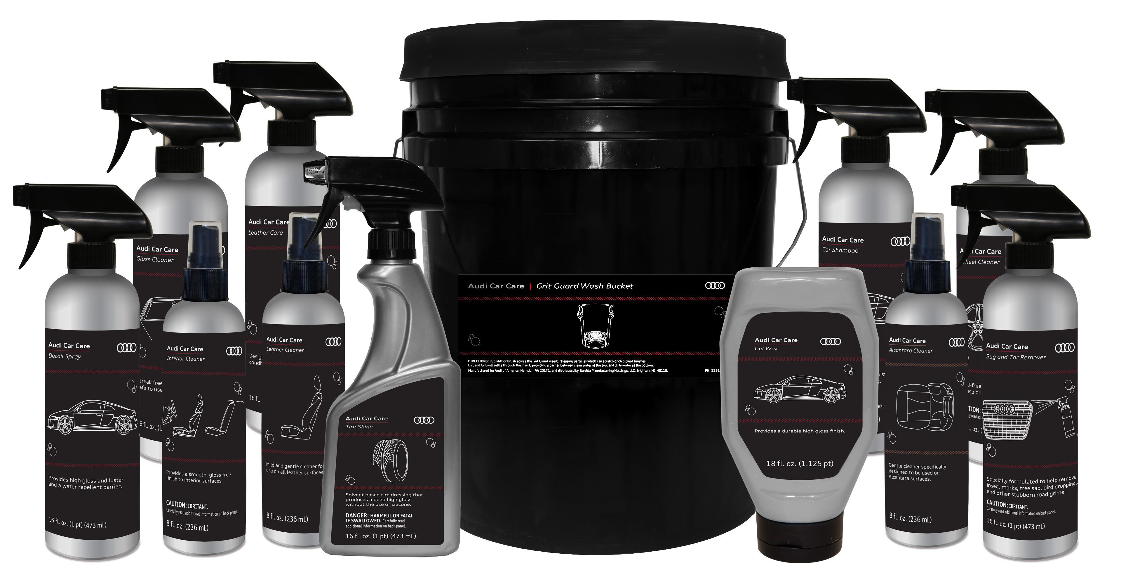 Audi Genuine Accessories - Audi car cleaning kit