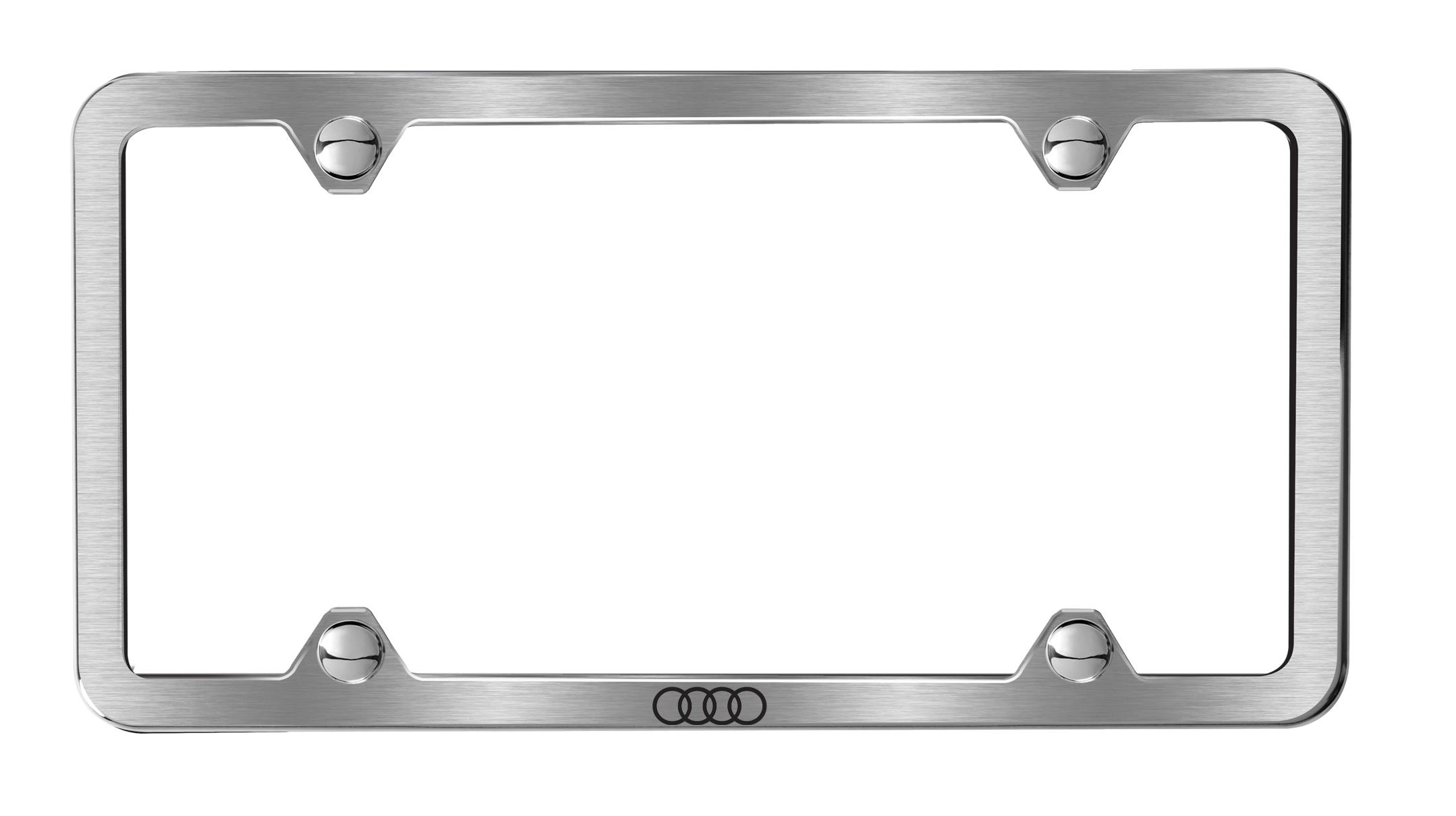 License plate frame - AudiWorld Forums