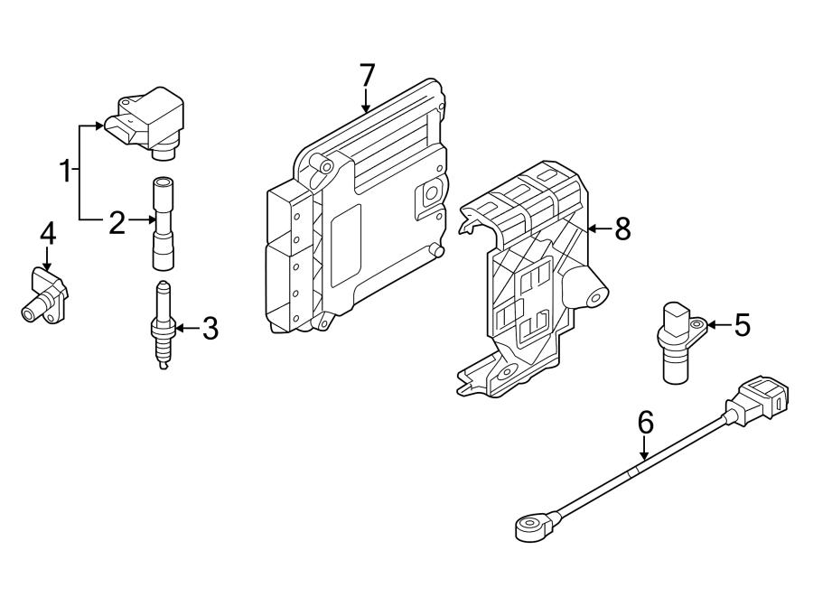 06k905601b - spark plug  2 0 liter  optional  vendor ngk  code  gas  ignition