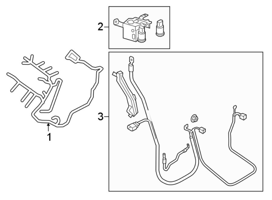 8w0971228ak - wire harness  wireharnes  starteralternator  liter  wiring