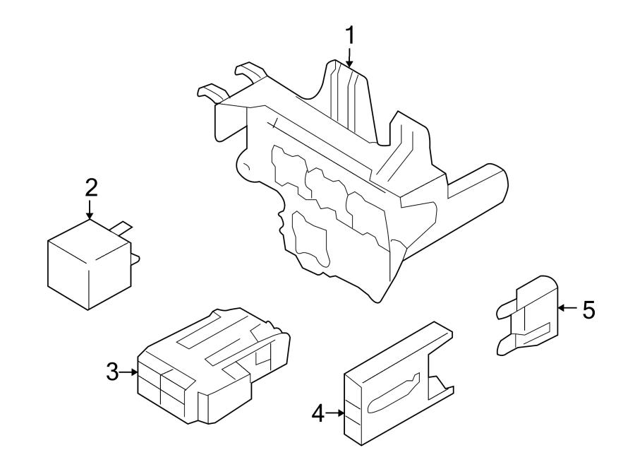 Audi S5 Carpet Trim Clip  Fuse Box  Holder  Compartment