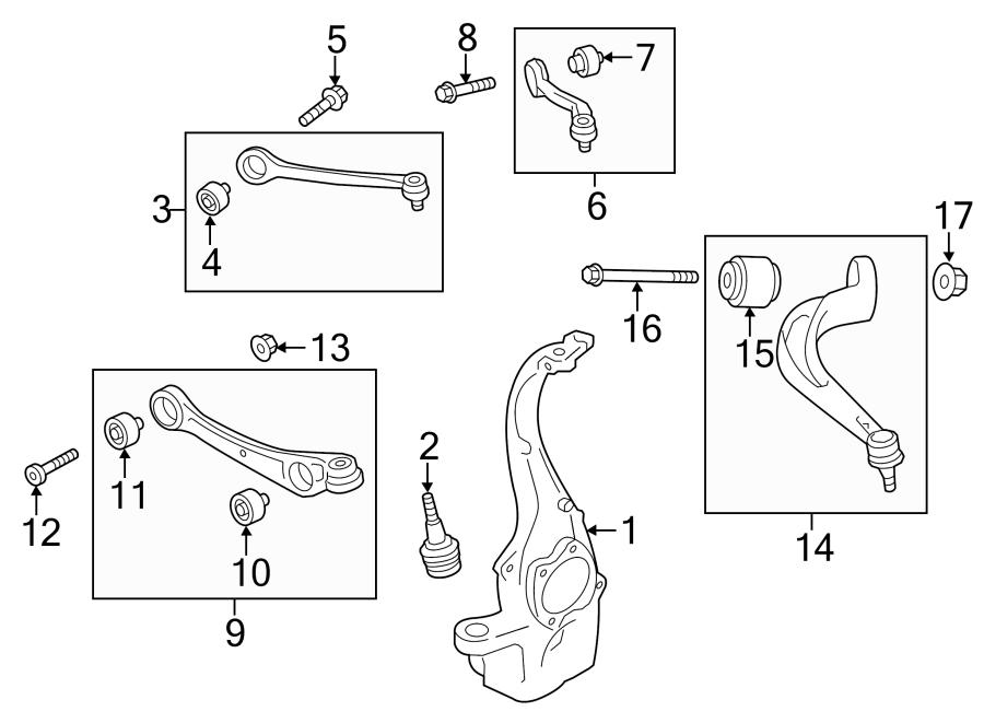 4g0407254b - steering knuckle  rightcobapress  standardsport