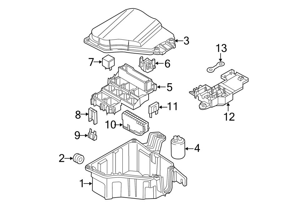 Audi A8 Fuse  Amp  Power  Module - N10424908