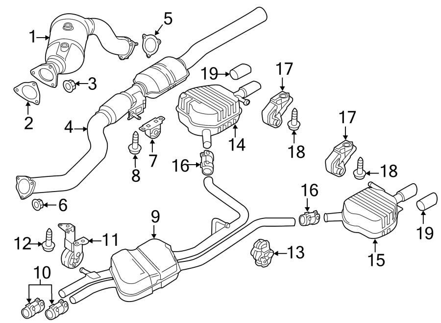 4h0253825f - extension  pipe  tail  3 0 liter diesel  3 0 liter gas  4 2 liter  chrome