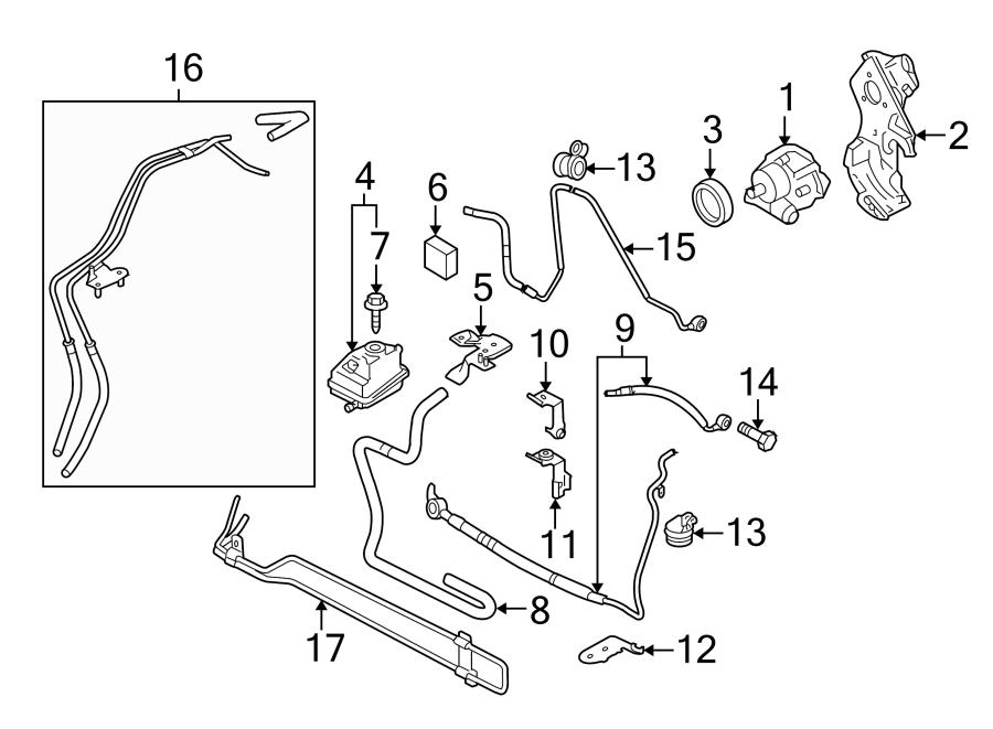 Audi Tt Power Steering Cooler - 8n0422885f