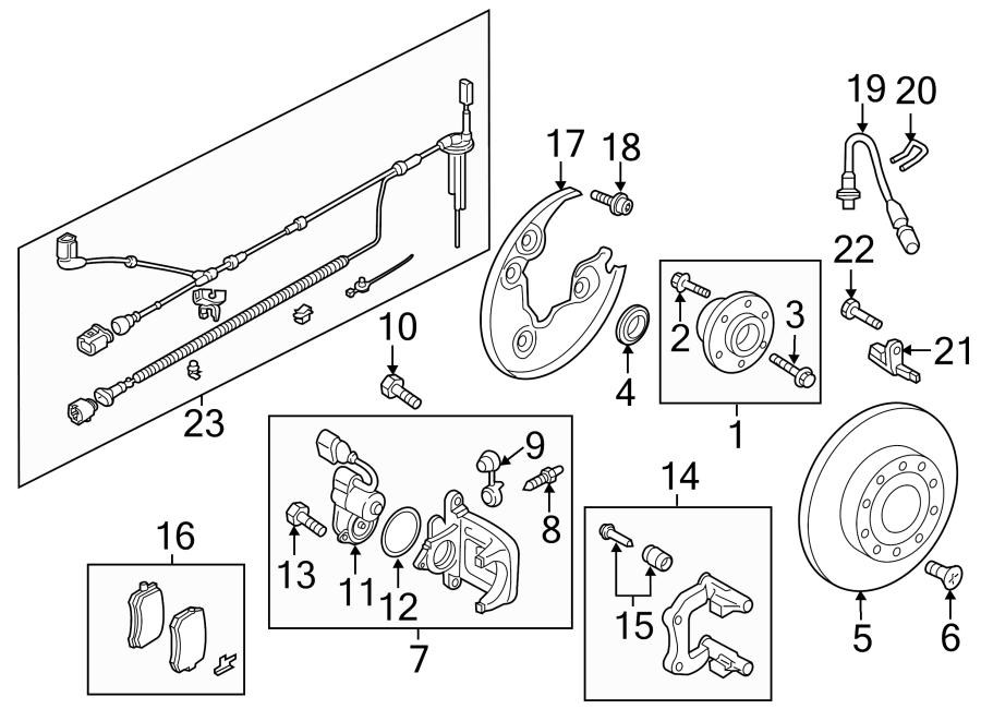 2015 audi sensor  harness  abs  wire  fwd  fwd  w  o xenon