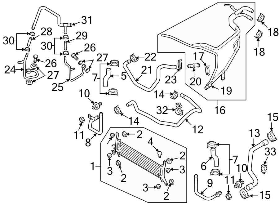 447971848 - hose  holder  3 0 liter  auxiliary  diesel  auxiliary