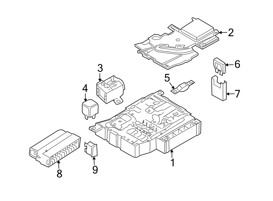 n10525508 - fuse  amp  compartment  engine