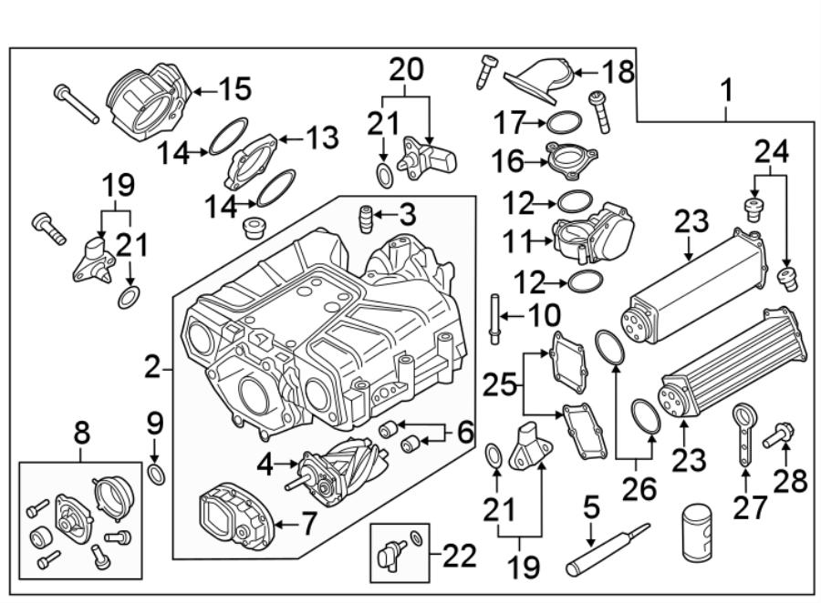 Audi Q7 Supercharger Clutch  3 0 Liter  3 0 Liter Gas  Gas
