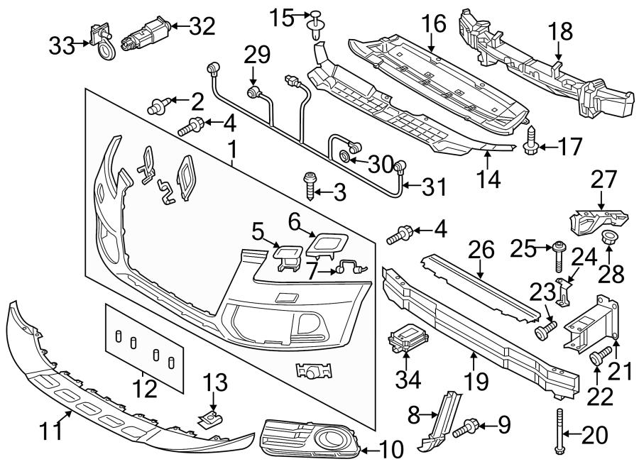 Audi Q5 Ambient Air Temperature Sensor - 8z0820535a