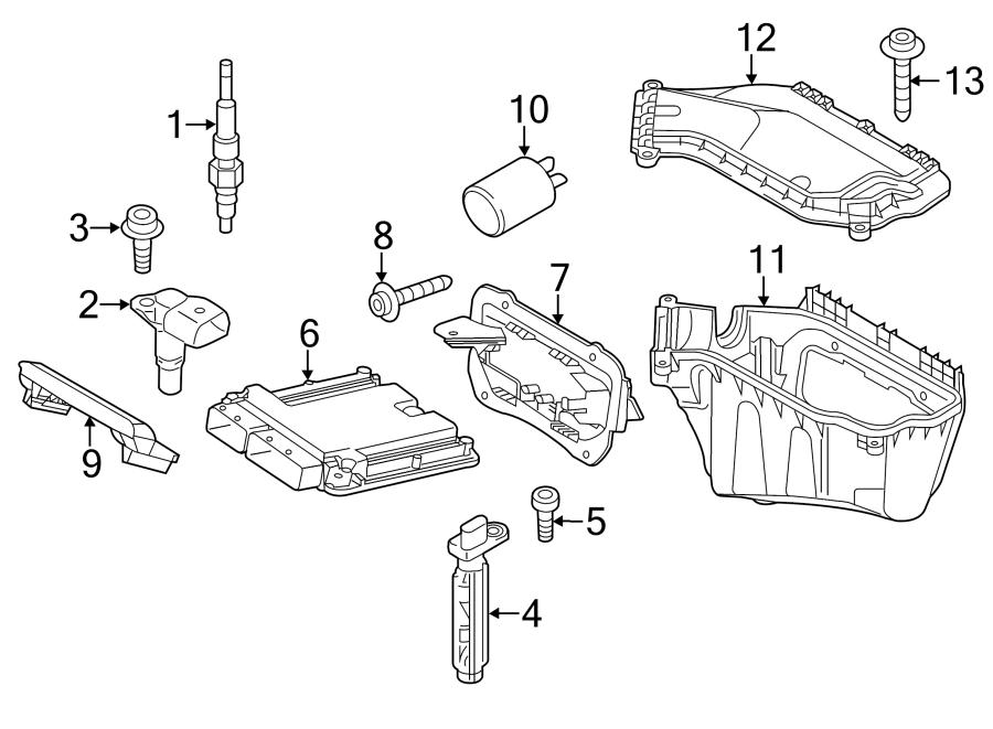 Audi Q5 Engine Camshaft Position Sensor  Liter  Right