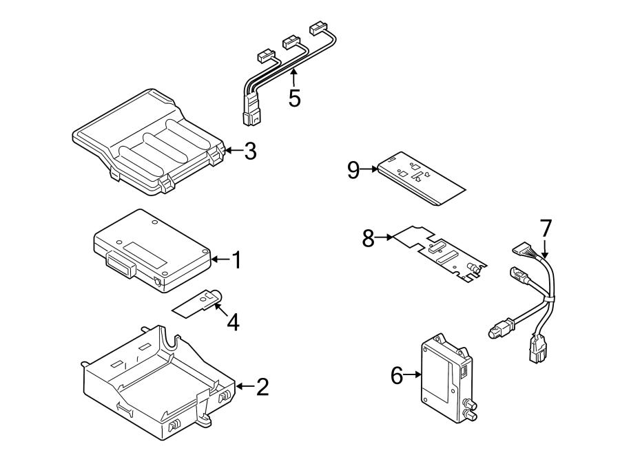 Audi Q5 Antenna  Gps  Bluetooth  Bluetooth  Sedan  Bluetooth  Wagon  Bluetooth