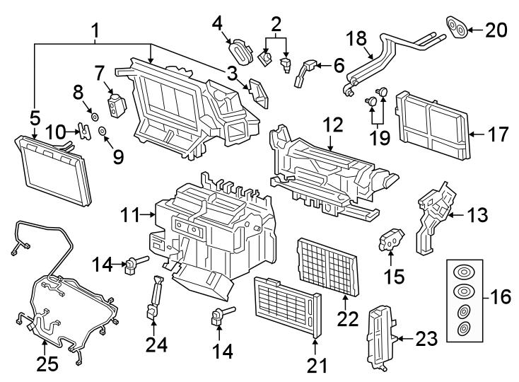 Audi Q5 A  C Evaporator Drain  Air Conditioning  A  C  Evaporator Drain  Drain Tube