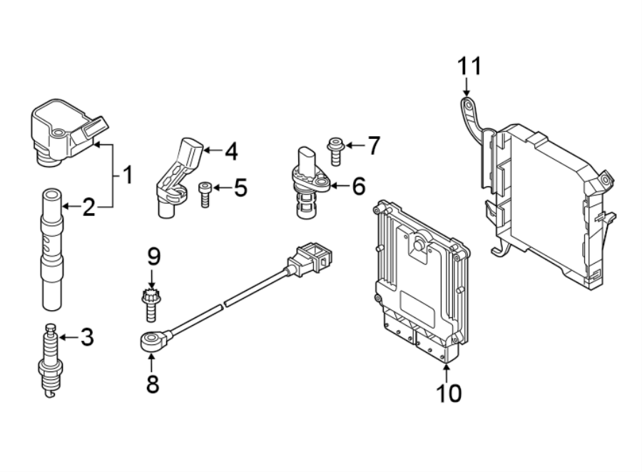 06h905110g - direct ignition coil  liter  dbpa  code