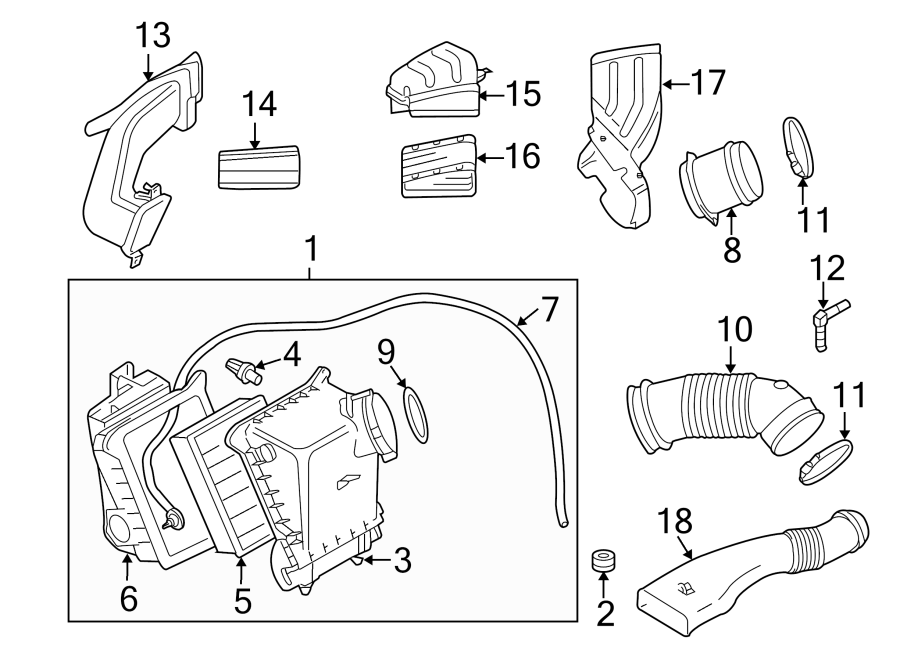 2007 audi elbow  vacuum line adapter  a component that