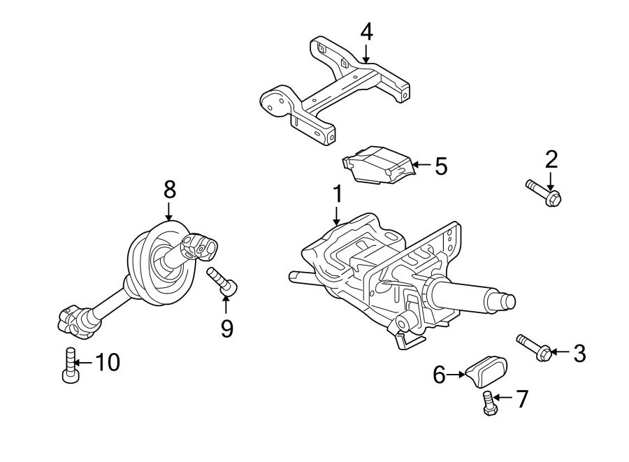 Audi A4 Steering Shaft  Lower   2013