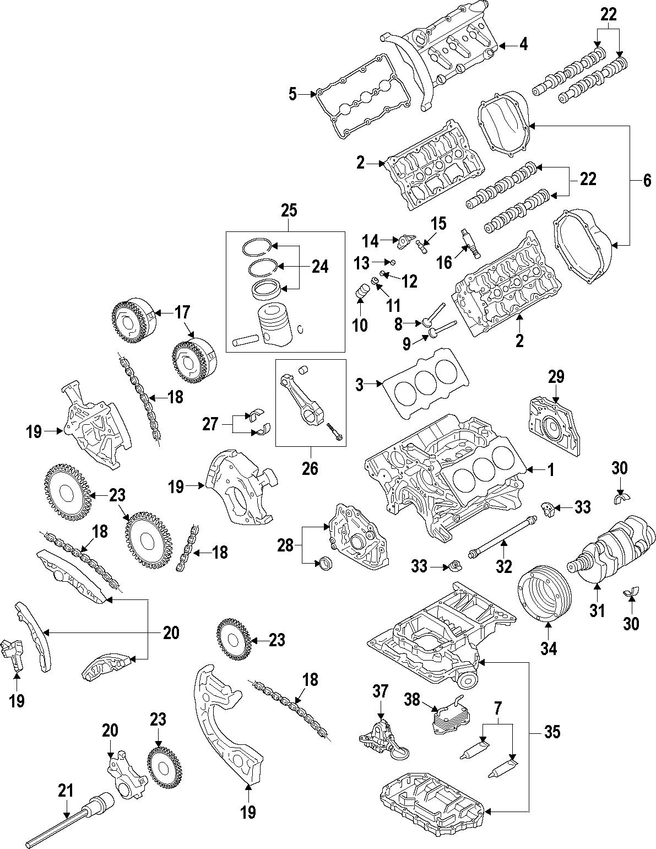 8r0198381n - Engine Mount  Repset
