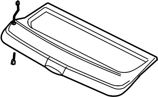 8p4867769be2j9 - cover  rear  body  floor