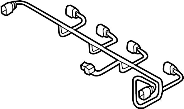 2017 audi s3 wire harness  pkg  line  sedan
