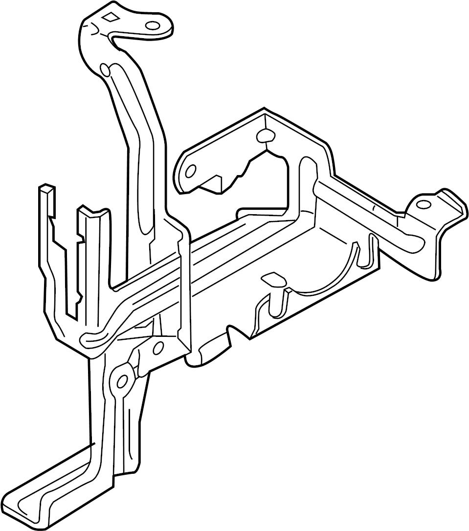 8e0614119al - bracket  rs4