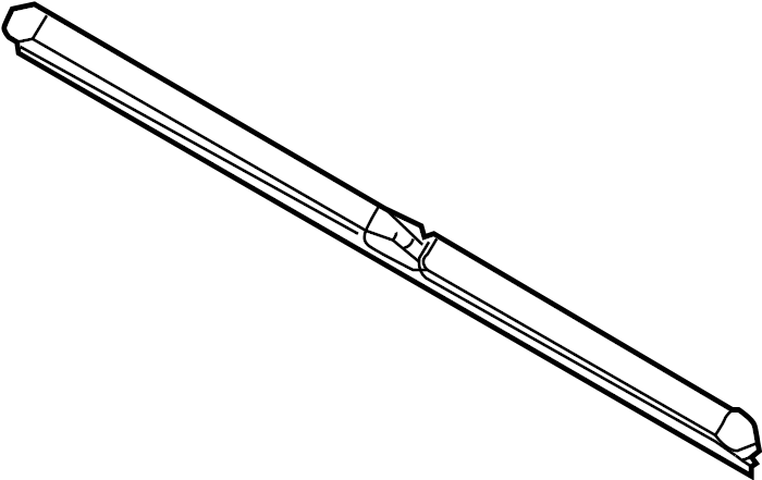 2004 audi a4 front blade  windshield wiper blade