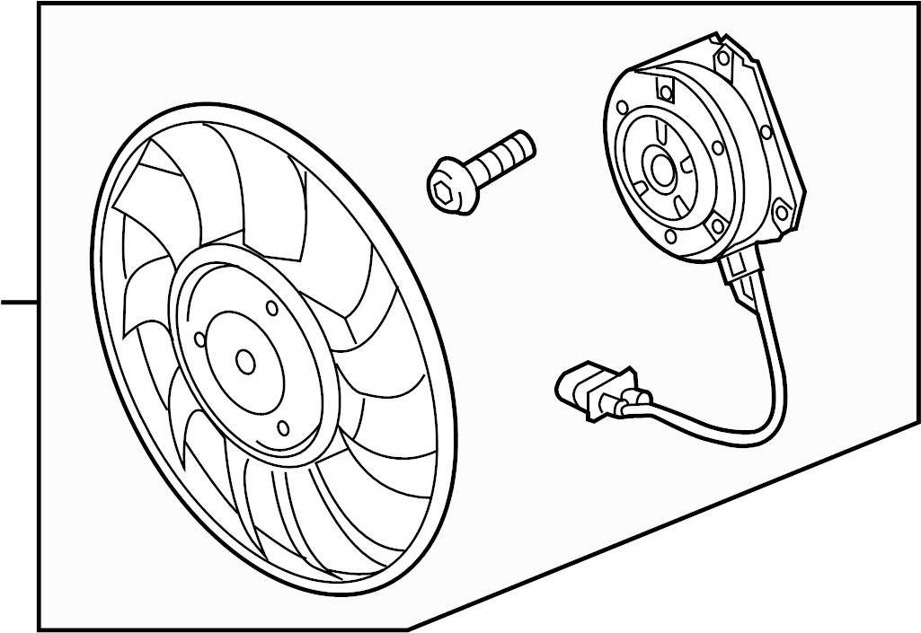 4h0959455ae - fan  motor  cooling  right  liter
