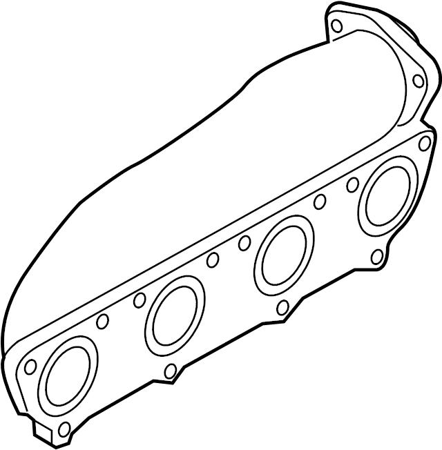 audi a6 exhaust manifold  2005