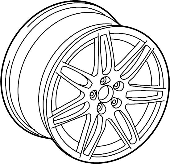 4f0601025ba - wheel  alloy  19  7 double spoke  8 5 wide  may  wheels  help