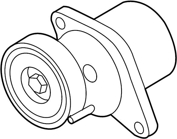 2016 audi q5 belt tensioner  beltdamper  mount bracket  liter  code  belts