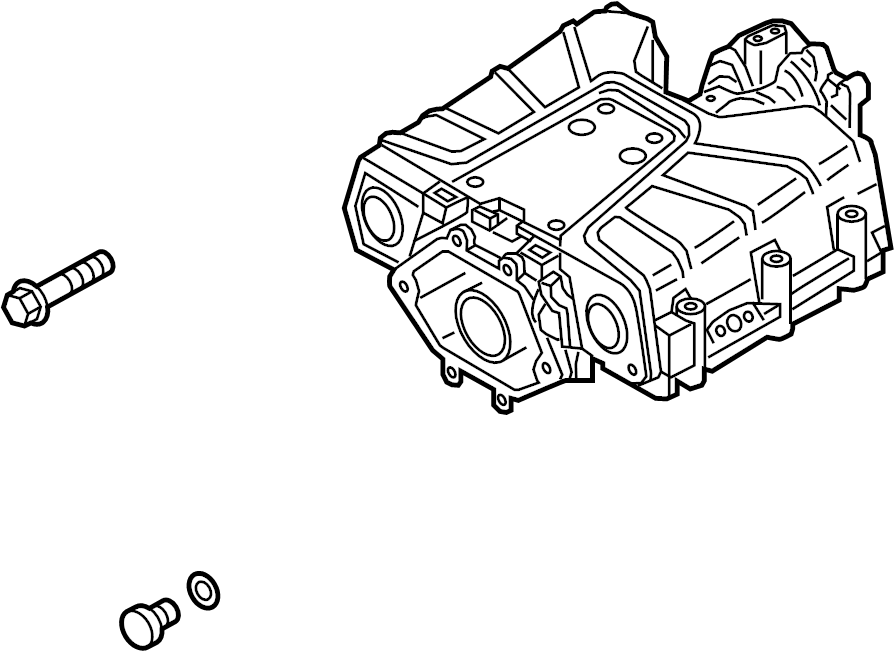 2014 audi compressor assembly  included with  supercharger