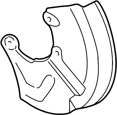 1999 audi shield  splash shield  1997