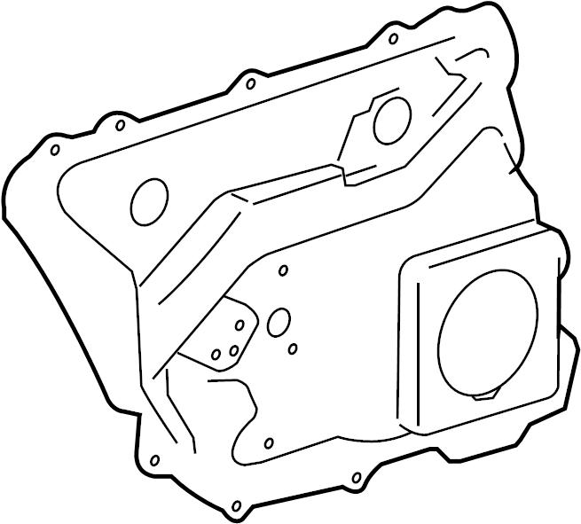 Panel. A8 & S8. Door, Rear, Plate