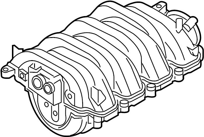 079133185cj engine intake manifold 4 2 liter engine. Black Bedroom Furniture Sets. Home Design Ideas
