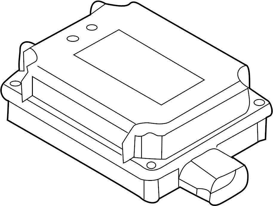 8k0907410c - control  module  door  unit  op  garage opener  ler