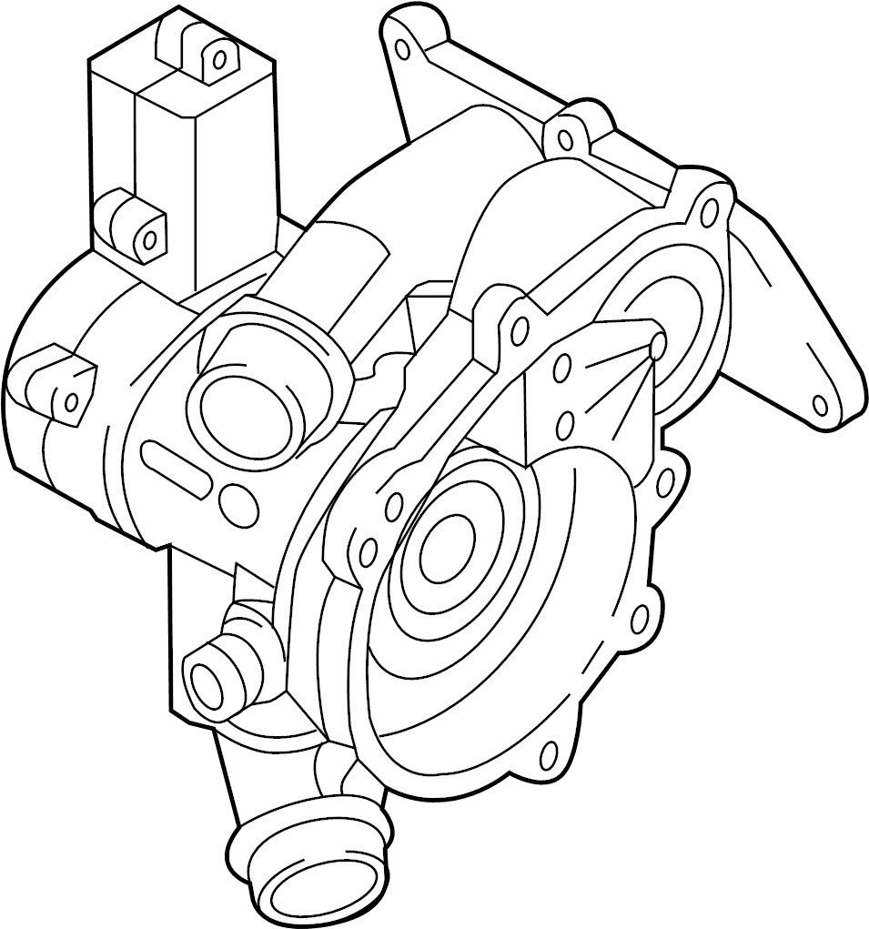 06l121111h - thermostat  audi  volkswagen  group