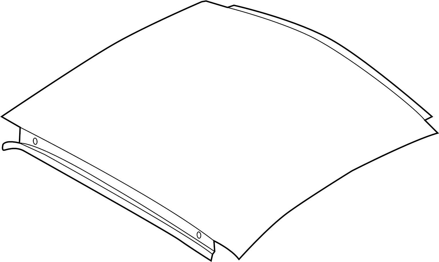 8s8817111 - roof panel  group  components  body