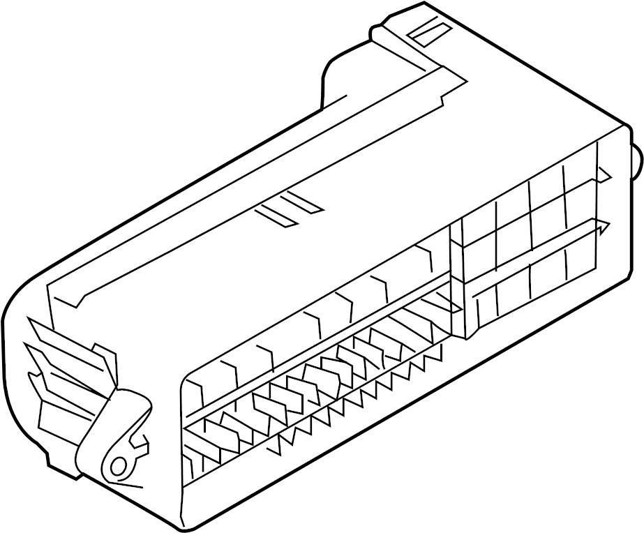2016 audi fuse box main  fuse holder  module  control