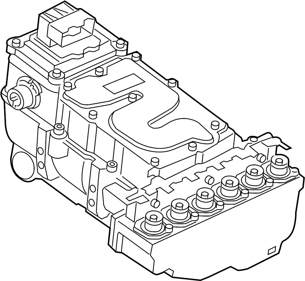 Audi Dc Dealers: Controller. Drive Motor Inverter. ELECTRONIC