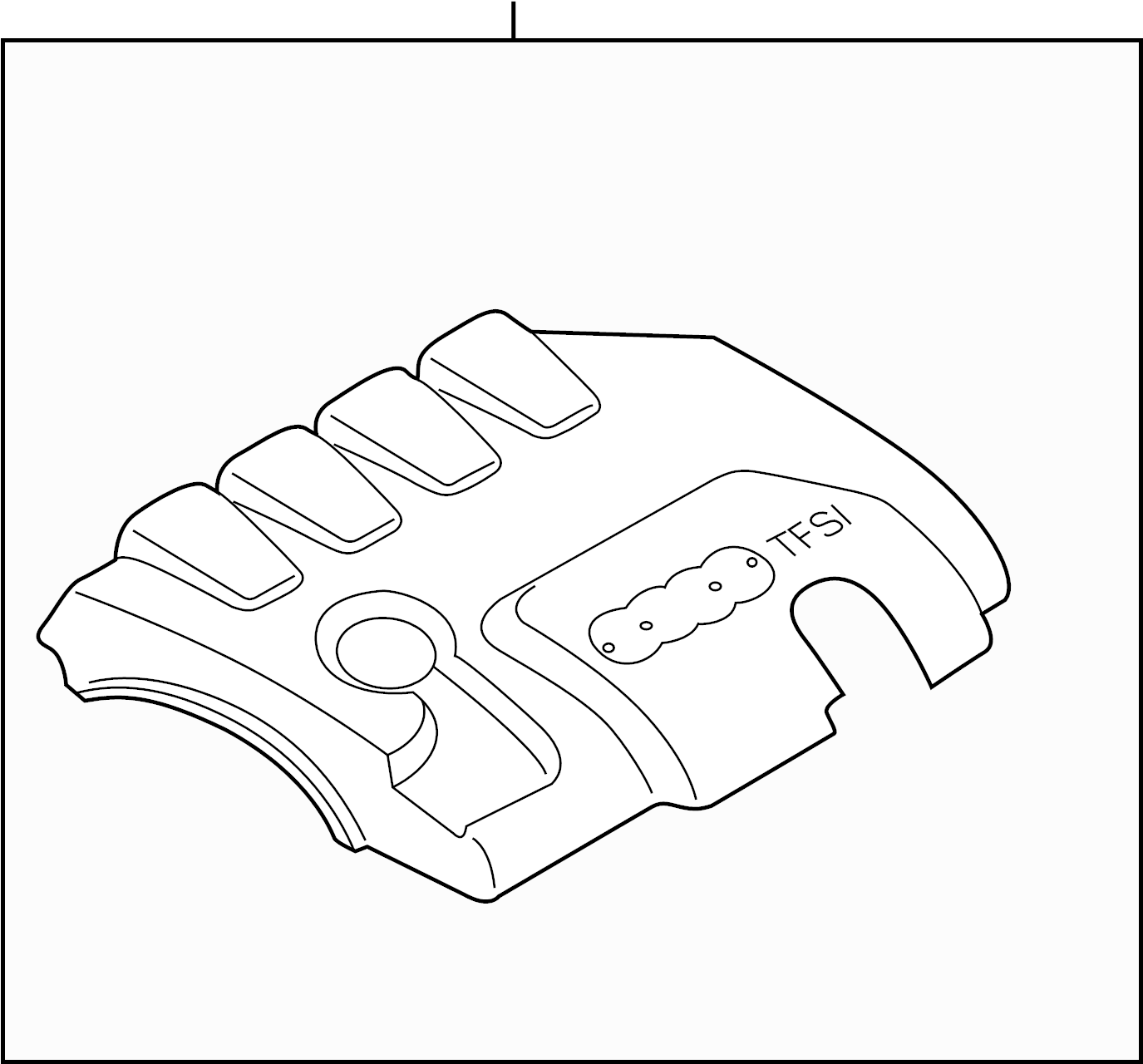 2011 Audi A4 Engine: 2011 Audi A4 Engine Cover. LITER, TRANSAXLE, APPEARANCE