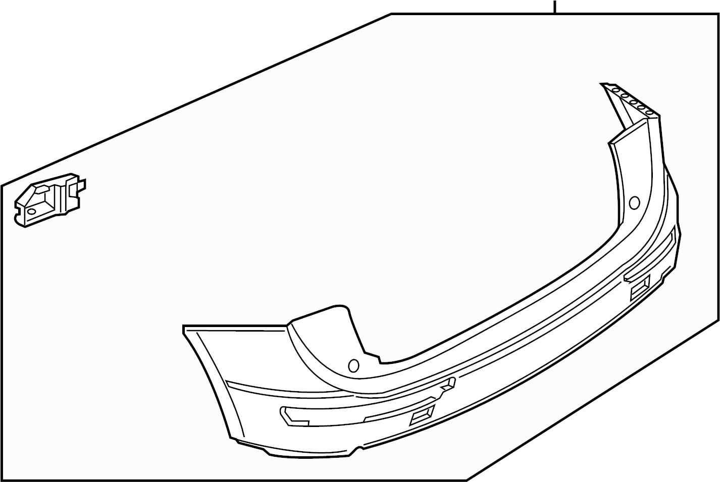 2015 audi q5 premium plus 3 0l v6 bumper  bumper cover