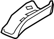 2016 audi a4 belt guide seat belt guide rear right black 8k0857792a 4pk genuine audi part